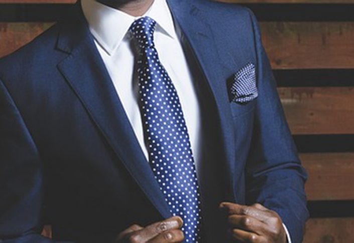 Two tone patterns are the easiest to work with such as polka dots and stripes.