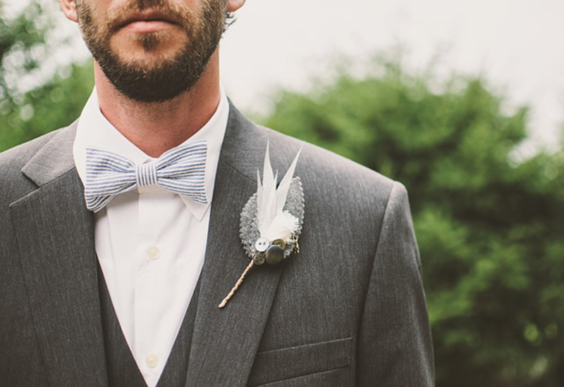 Wedding bow tie