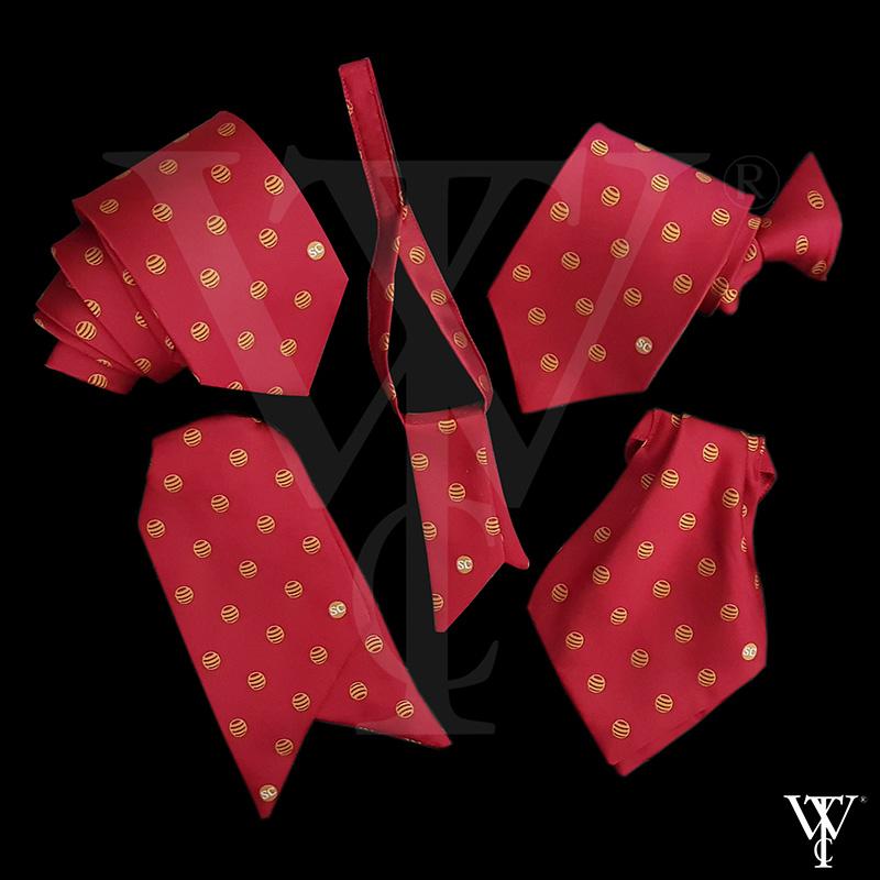 Portfolio of Custom-Made Ties in Cornwall by Winsor Ties - Silverdale