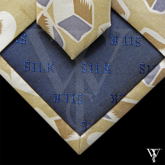 Necktie manufacturing - interlay