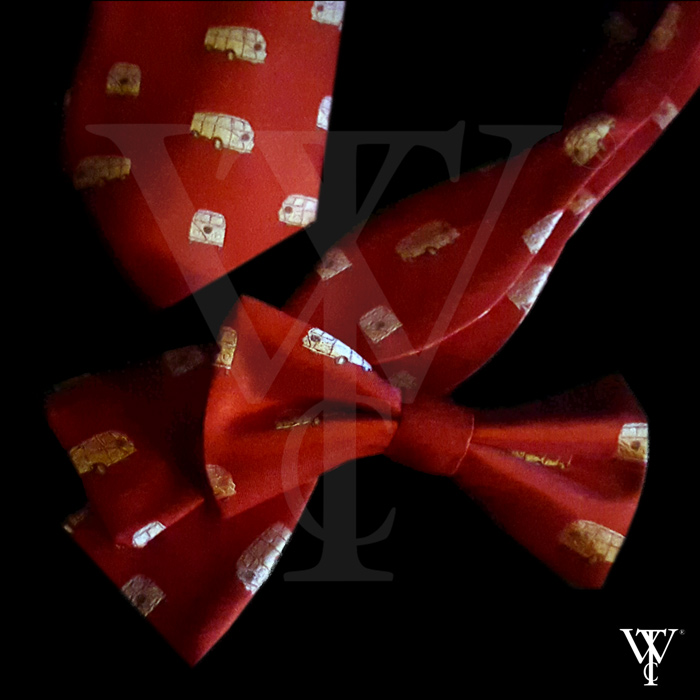 Society and Association Ties Bowties Strawberry-Leisure2